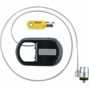 Notebookzár, kulcszáras, visszahúzható kábel, KENSINGTON MicroSaver (BME64538)
