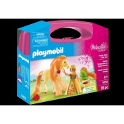 PLAYMOBIL - SET PORTABIL - PRINTESA SI CALUT (PM5656)
