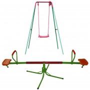 Paquete Columpio 1 asiento y Sube y Baja de Acero Fuxion Sports(L)