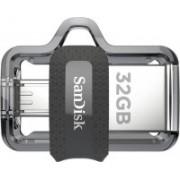 SanDisk Ultra Dual Drive M3.0 32 GB OTG Drive 32 GB OTG Drive(Black, Type A to Micro USB)