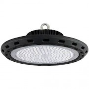 BES LED LED UFO High Bay 150W - Magazijnverlichting - Waterdicht IP65 - Helder/Koud Wit 6400K - Aluminium