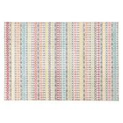 Designtapijt 'CLOCLO' 160/230 cm kleurrijke grafische motieven