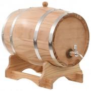 Sonata Бъчва за вино с канелка, борова дървесина масив, 12 л
