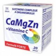 Calciu, magneziu, zinc + vitamina c forte 20plicuri ZDROVIT