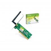 Tarjeta De Red PCI Tp-Link TL-WN751ND Inalambrica 150 Mbps-Verde