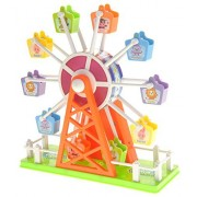 CHIMAERA Colorful Carnival Ferris Wheel Ride Toy with Sound Activated Lights and Sounds