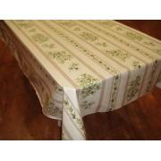 Mantel de Algodón Plastificado - Modelo CLOS DES OLIVIERS - Crema