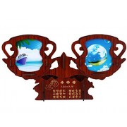 Constellation Photo Frame 3 D Woodedn Puzzles Picture Frames Puzzle C Aquarius