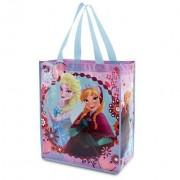 Disney Store Frozen Anna and Elsa Reusable Tote Bag