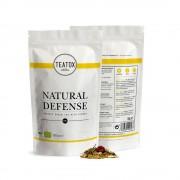 Teatox Vegan Thee Natural Defense Green Tea Ginger (Navulling)