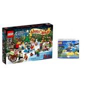 Lego City Advent Calendar Bundle Of 2 Includes Calendar 60063 And Lego City Set 30311