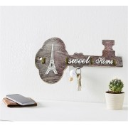 Suport pentru chei realizat din lemn Sweet Home
