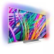 Телевизор Philips 55 инча UHD, DVB-T2/C/S2, Android TV, Ambilight 3, Nano IPS pannel, Quad core,2900 PPI, 16 GB Internal memory, 55PUS8303/12