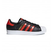 Zapatillas Casual Adidas Superstar M 40 2/3 Negro
