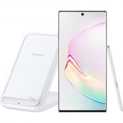 Samsung Galaxy Note 10 Plus 256 GB Wit + Samsung Wireless Charger Stand 15W