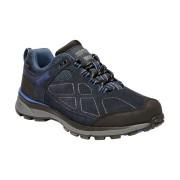 Regatta Womens/Ladies Samaris Suede Low Waterproof Fabric Hiking Shoes - Navy - Size: 3