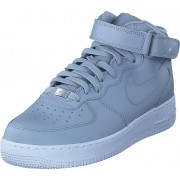 Nike Air Force 1 Mid '07 Wolf Grey/wolf Grey-white, Skor, Sneakers & Sportskor, Höga sneakers, Grå, Herr, 45