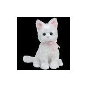 Ty Beanie Baby - Sugar - White sitting cat/Romeo - Tabby sitting cat (Colors May Vary)