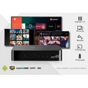 TS UP 4K (allt i ett) Android IP TV Smartbox + DVB-T2 / S2 Ultra HD-mottagare
