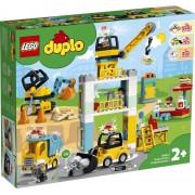 LEGO DUPLO Torenkraan & Bouwterrein - 10933