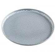 HAY Perforated Dienblad - L - Dusty Blue