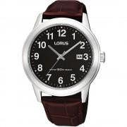Lorus Montre-bracelet Lorus RH927BX-9 Brown Leather Strap Quartz/inox
