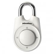 Visací zámek Master Lock 1500iEURDWHI - bílý