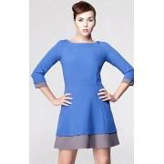 Jazz sukienka (niebiesko-szary)