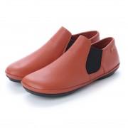 【SALE 20%OFF】カンペール CAMPER RIGHT NINA / ブーツ ハイカット サイドゴア フラット (オレンジ) レディース