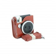 [Fuji Instax Mini 90] --Protección Completa Cámara Fujifilm Instax Caso Bolsa Para Mini 90 Neo Clásica Cámara De Película Instantánea Con PU Suave Material De Cuero MULBA M79 Brown