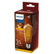 Philips 8718699673543 LED žárovka Classic Vintage 1x4W E27 2700K