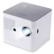 Преносим проектор Acer B130i, DLP, WXGA (1280x800), 1500:1, 400 lumens, HDMI, MicroSD, Wi-Fi, MR.JR111.001