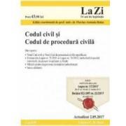 Codul civil si Codul de procedura civila Act. 2.05.2017
