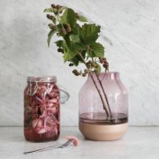 Muuto Elevated Vase Ø 167 H: 219 mm, rose 14153