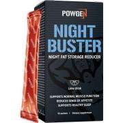 PowGen Night Buster Fett verbrennen während der Nacht 10-Tage-Programm Limettengeschmack 10 Beutel PowGen