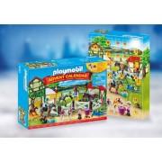 Playmobil Hästgård julkalender - Playmobil julkalender 9262