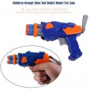 EH Diseño Creativo Los Niños Kids Toy Dart Gun Blaster Juego Bala Soft Toys Pistola - Naranja Azul