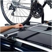 Thule Transbike Suporte de Bicicleta para Carros Thule FreeRide - Teto - 1 Bike - PRATA/PRETO