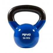 RING Kettlebell 16kg metal vinyl RX DB2174-16 blue