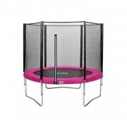 Salta Combo Trampoline met Veiligheidsnet - 213 cm - Roze
