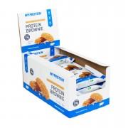 Myprotein Brownie Proteico - 12 x 75g - Cioccolato Bianco
