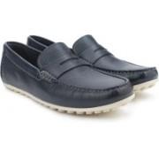 Clarks Kolin Limit Navy Tumb Loafers For Men(Navy)