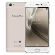 Krüger&Matz Smartfon KRUGER & MATZ Live 4S Biało-złoty