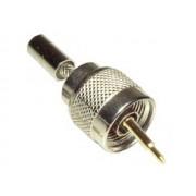 NTR CON30 N dugó krimpelhető H-155 koax antenna kábelre 0-18GHz frekvencia átvitel