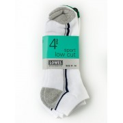 Lowes Low Cut 4Pk Sport Socks
