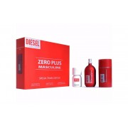 Diesel Zero Plus Masculine Gift Set - EDT 75ml + Diesel Plus Plus Masculin EDT 30ml + Stick 75gr за мъже