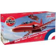 Airfix A02005 1:72 Scale BAe Red Arrows Hawk Military Aircraft Classic Kit Series 2