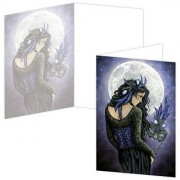 ECOeverywhere Moonlight Masquerade Boxed Card Set 12 Cards and Envelopes 4 x 6 Inches Multicolored (bc12189)