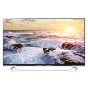 "LG 49UF852V, 49"" 3D 4K Ultra HD TV, 3840x2160, DVB-C/T2/S2, 1500PMI, HDMI, Smart,WIDI, DLNA, Wi-Fi Built in, DVR Ready, USB 2/3.0, Scart, CI, Speakers, Cinema Screen, Ribon WHITE"