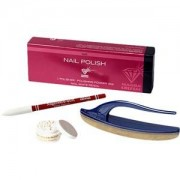 Tana Make-up Nails Nail Polishing Set Ganz Powder + Wildlederpolierer 1 Stk.